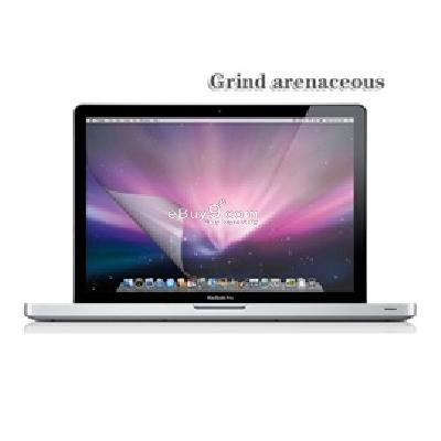 frosted screen protector guard for 15.4 inch Apple macbook pro (Transparent)sp047t}-As picture